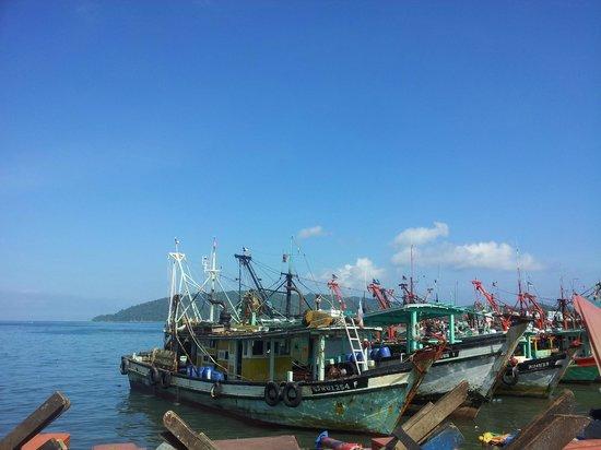 Manja Hotel : Fishing Boats