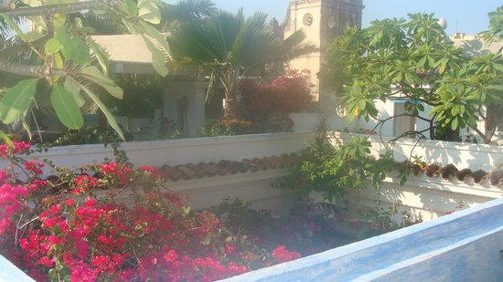 La Passion Hotel Lounge: Terraza
