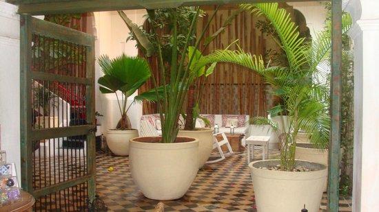 La Passion Hotel Lounge : Patio interno