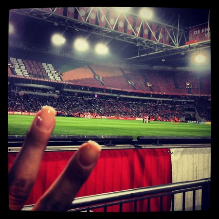 Amsterdam ArenA: Ajax football match