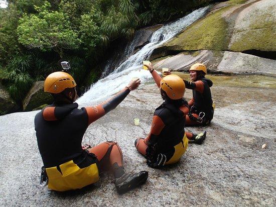 Abel Tasman Canyons: small group size
