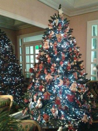 Marghera Hotel: Fantastico albero di Natale nella hall