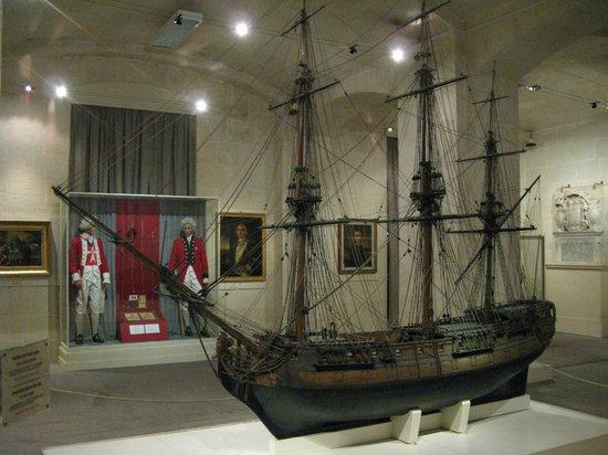 Malta Maritime Museum: amazing ship model