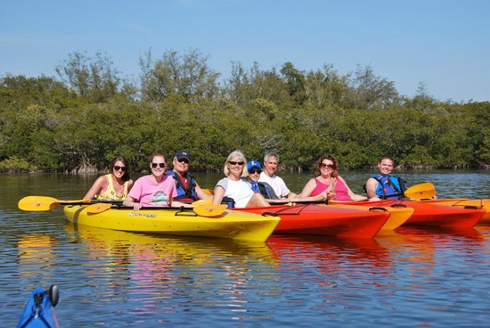 Adventure Kayak Outfitters : Happy Kayaking Family