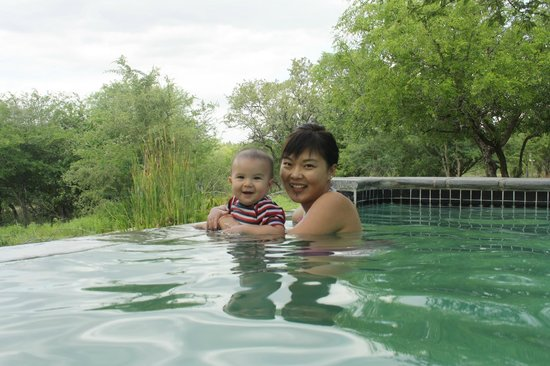 Turaco Lodge: Pool Place
