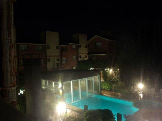 Valeria House: la piscina desde la habitación