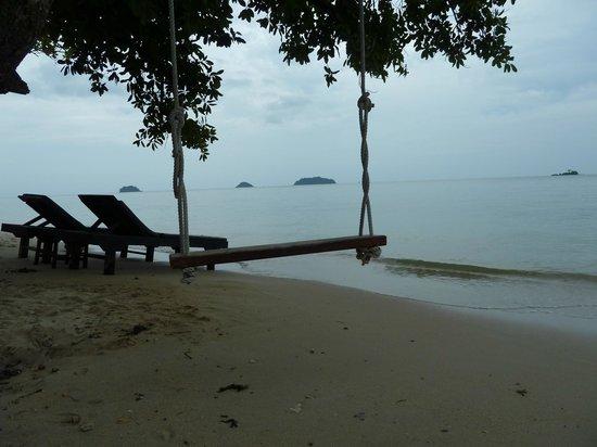 Chang Park Resort & Spa: Пляж при отеле