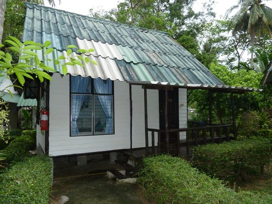 Chang Park Resort & Spa: Вид бунгало снаружи