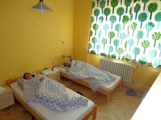 Patio Hostel: Quarto com 4 camas