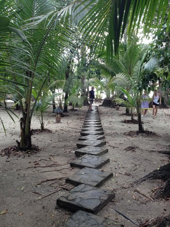 Ranchos Itauna : The path to the beach