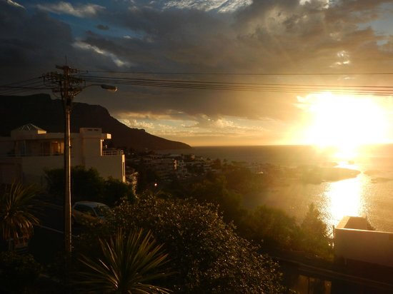 51 On Camps Bay Guesthouse: sunset