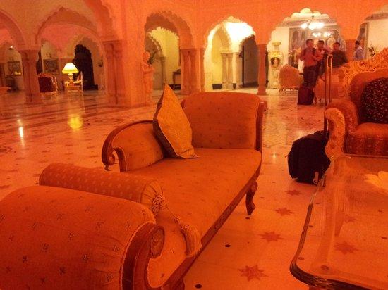 The Shiv Vilas : The reception area