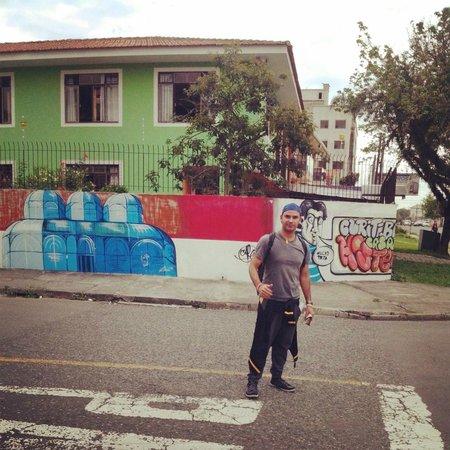 Curitiba Casa Hostel: fachada