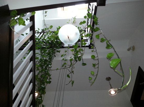Swiss Hotel: Main Stairwell