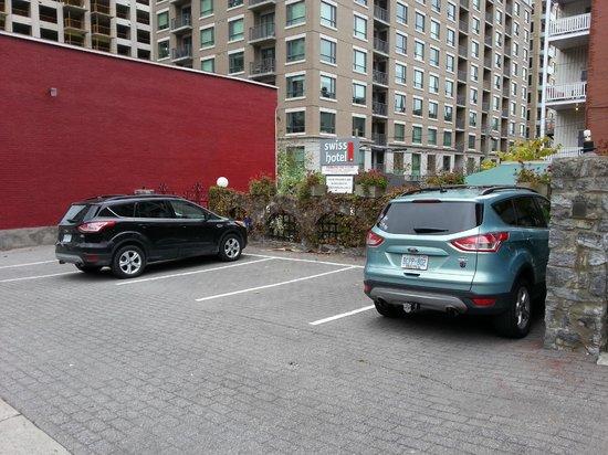 Swiss Hotel: The Swiss Parking Lot