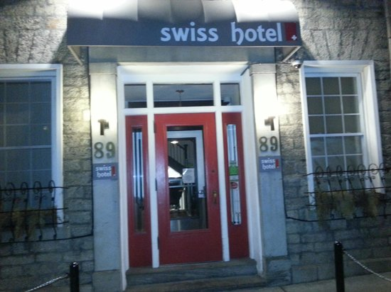 Swiss Hotel Front Door