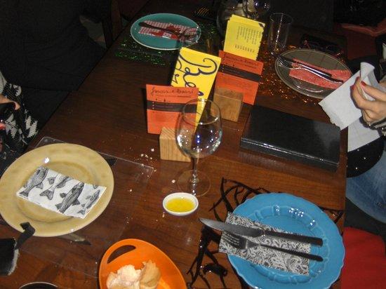 Casa de Pasto da Palmeira : A decoração da N/mesa