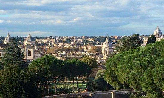 Sofitel Rome Villa Borghese : Chambre vue