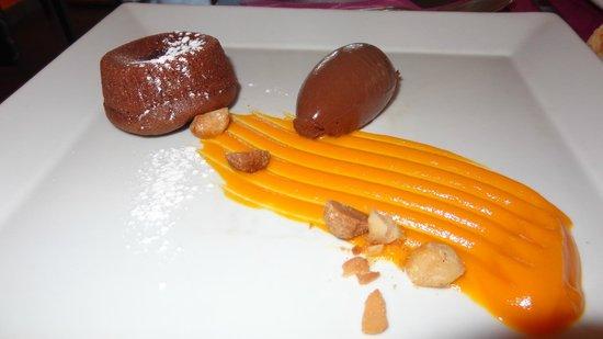 Auberge de Bardigues : Moelleux au chocolat