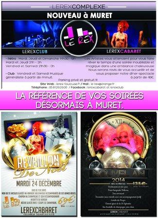Cabaret Le Rex : Le Rex Cabaret