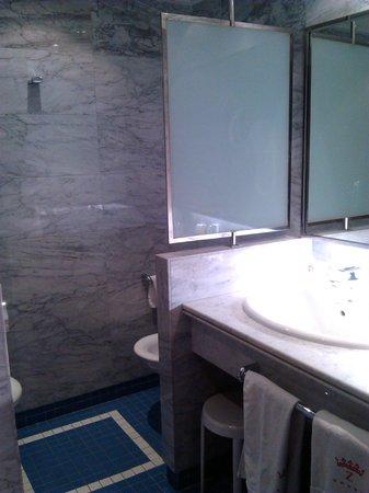 Palafox Hotel : Baño habitación 616