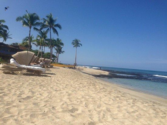 Four Seasons Resort Hualalai: spiaggia