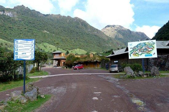 Termas de Papallacta: entrance