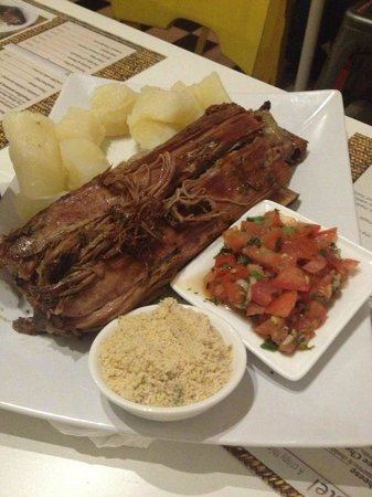 Pastel Katavento Brazilian Restaurant Beef Ribs Are Normally Served On Fridays