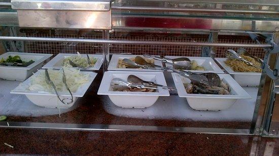 Hotel Costa Calero : meals pool