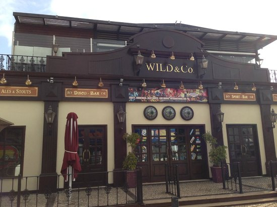 Wild & Co. Steakhouse: quiet by rocking by night