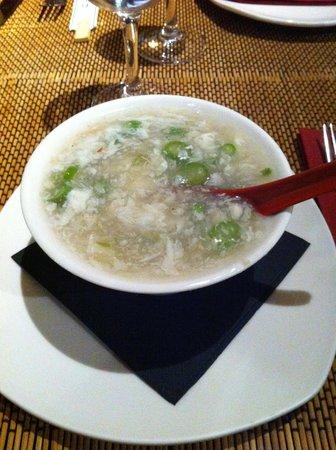 Yuan Restaurant: Zuppa di granchio