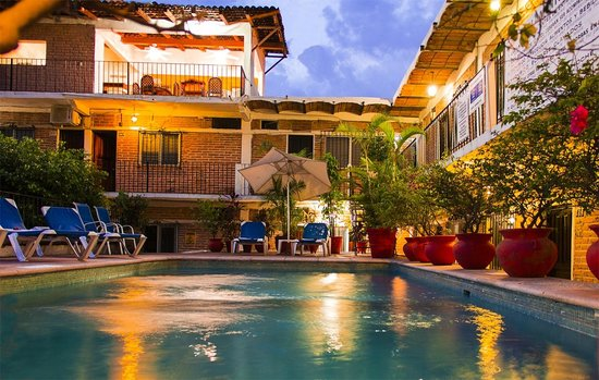 Hotel Posada de Roger: Pool- Alberca