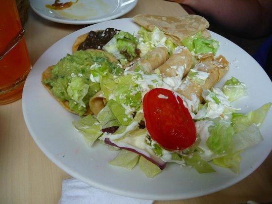 Restaurant Don Cafeto: tacos de pollo