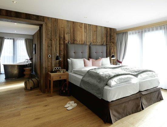 l wen suite bild von l wen hotel montafon schruns. Black Bedroom Furniture Sets. Home Design Ideas