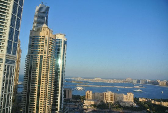 Media One Hotel Dubai : View from 31st Floor Meeting Room