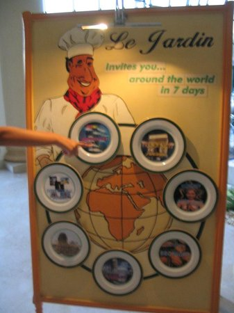 Hilton Sharm Dreams Resort : world tour food