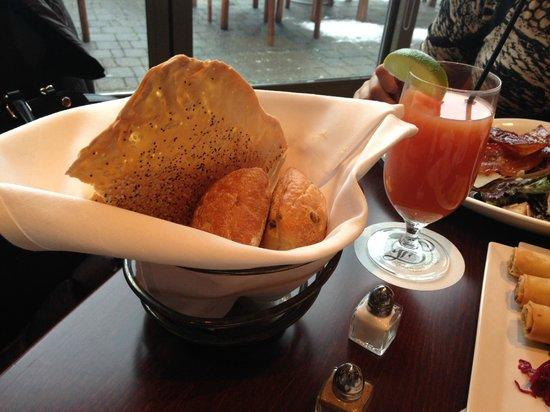 The Mallard Lounge and Terrace: Bread Basket