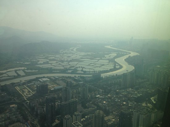 The St. Regis Shenzhen: what we see from room 8407