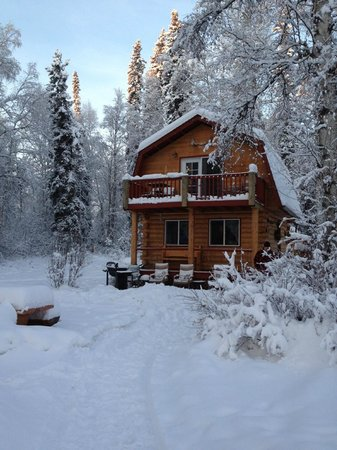 Riverbend Log Cabins & Cottage Rentals: Chinook Cabin