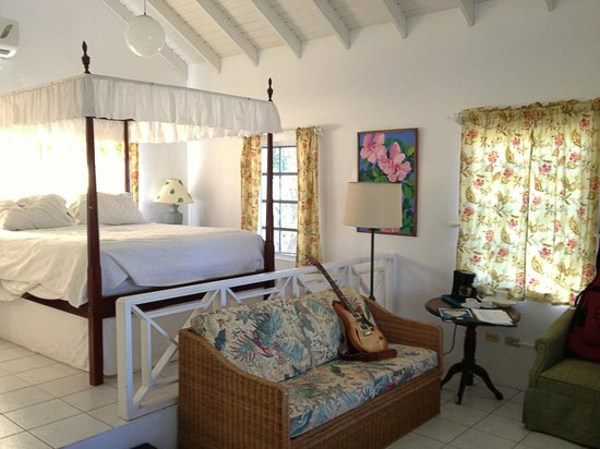 Oualie Beach Resort : View of the room