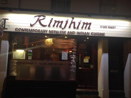 Rimjhim: Restaurant front