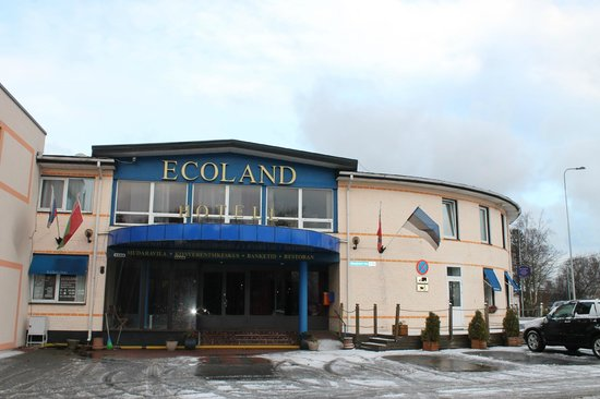 Ecoland Hotel-Boutique: Фасад отеля