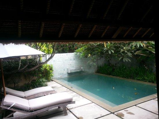 Mayaloka Villas : pool