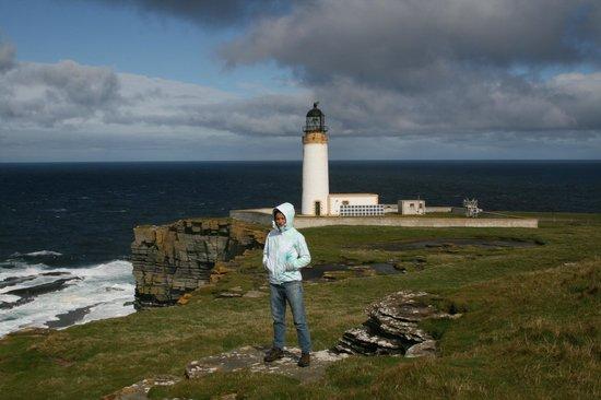 Loganair Orkney Island Sightseer Flight: маяк