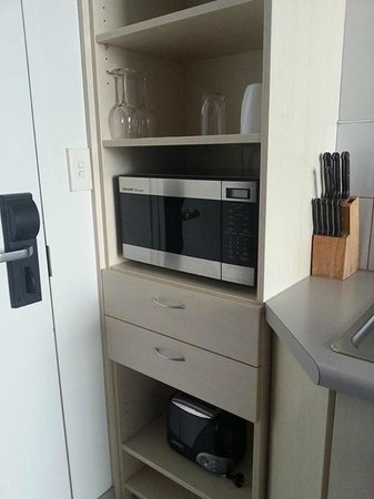 Ibis Styles Invercargill: microwave to heat food