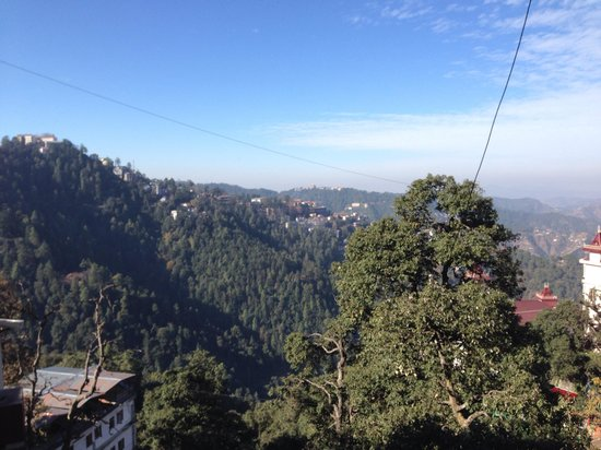 Kapil Hotel: Valley view from room 107