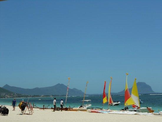 Sugar Beach Golf & Spa Resort: la plage