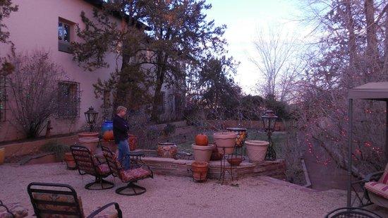 La Posada Hotel: La Posada Sunken Garden 1