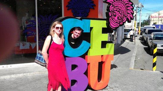 Radisson Blu Cebu : место для фото туристов