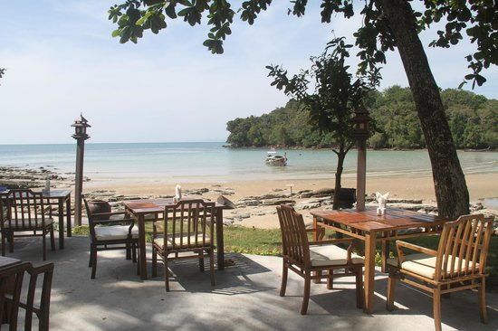 Nakamanda Resort & Spa: View from the beachside dining area